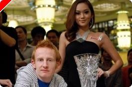 A PokerStars.net Asia Pacific Poker Tour Makaó 4. napja: Dermot Blain nyerte meg a főversenyt