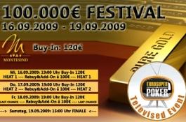 € 100.000 Poker Festival im Montesino