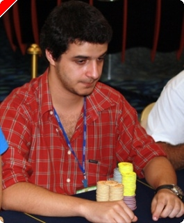 Torneio Casino Madeira - Rúben Gonçalves na Chip Lead no Final do Dia 1