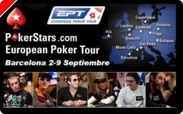 Hoy, desde las 13:30 horas, seguimiento en directo del PokerStars.com EPT de Barcelona. Mesa...