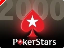 Más y más torneos freeroll de 2.000$ en premios de PokerStars