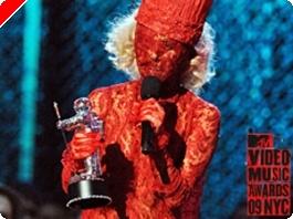Lady Gaga Ganha Prémio de Artista Revelação nos MTV - Video Music Awards