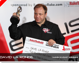 David La Ronde Wins English Poker Open, London Poker Circuit Terminated + more