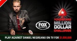 PokerStars Million Dollar Challenge a tévében.