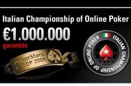 Termina l'ICOOP (Italian Championship Of Online Poker) con una Pioggia di Record