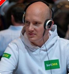 DM i Texas Hold'em poker på Casino Copenhagen er færdig med dag 1.