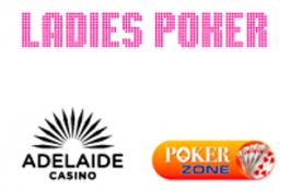 Покер за дами за първи път в Adelaide Casino