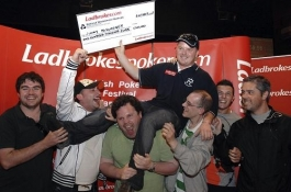 Toby87 aka Tobias Holmeide på 15 plass i Irish Poker Festival