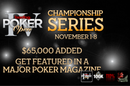 Bodog Poker Open IV