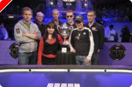 팀 유럽이 첫회 Casesars Cup에서 우승