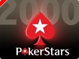 Hoje às 18:30 $2,000 Cash Freerolls na PokerStars