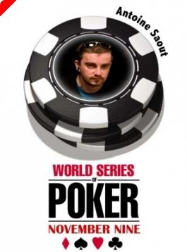 WSOP November '9' - A 8. széken Antoine Saout