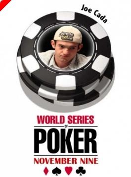WSOP November '9' - A 7. széken Joseph Cada