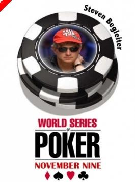 WSOP November '9' - Az 5. széken Steven Begleiter
