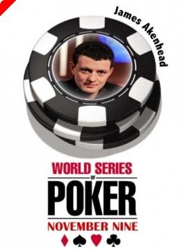 WSOP November '9' - Az 2. széken James Akenhead