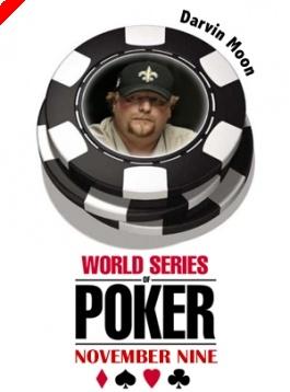 WSOP November '9' - Az 1. széken Darvin Moon