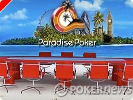 Qualifications en ligne : Le Paradise Poker Tour démarre le 12 décembre à Londres