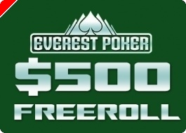 $500 PokerNews Cash Freerolls na Everest Poker