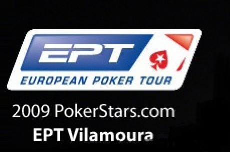 Vilamoura EPT 2009 - Final del día 1A. Varios españoles en pie, y mañana más en el día 2A...