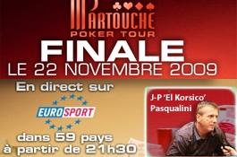 Partouche Poker Tour 2009 : la table finale sur Eurosport dimanche à 21h30