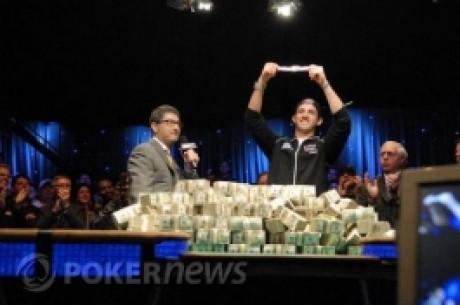 Joe Cada 赢得了2009年WSOP的总决赛冠军