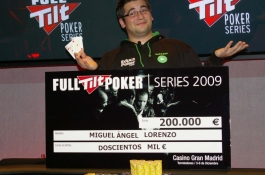 Full Tilt Series of Poker - Gran final Madrid - Resumen final