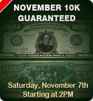 7 Luck PokerRoom 11월 1000만원 개런티 토너먼트 개최