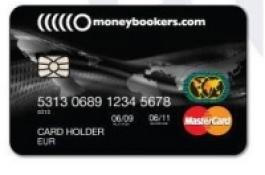Clientes Moneybookers agora com Cartão MasterCard