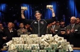 Joe Cada on uusi World Series of Poker-mestari!
