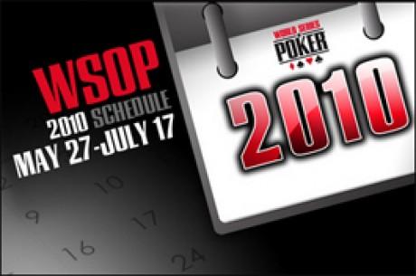 2010 WSOP - Újra indul a küzdelem a karkötőkért