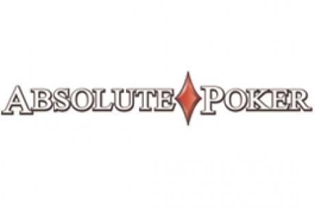 Pokerio freeroll - Absolute Poker $1215 nemokamas turnyras