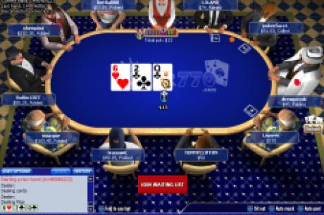 Nemokamas kalėdinis turnyras Poker770 kambaryje