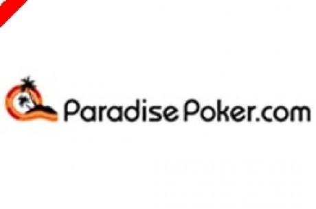 Ganhe TV's LCD e iPod's Todos os Meses na Paradise Poker!