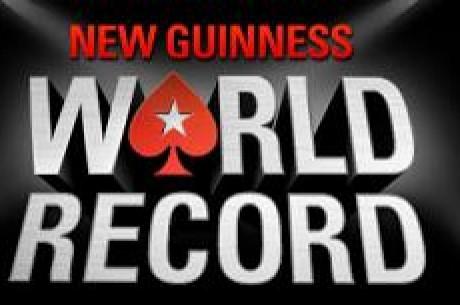 Pokernews Teleexpress - Rekord Guinessa pobity na Pokerstars