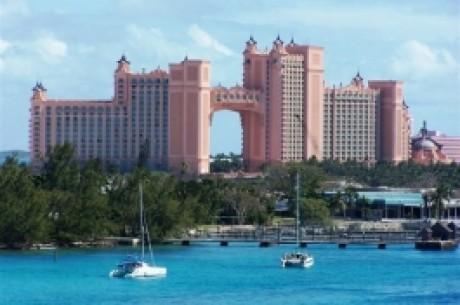Pokerio žaidėjai suskrenda į Bahamus