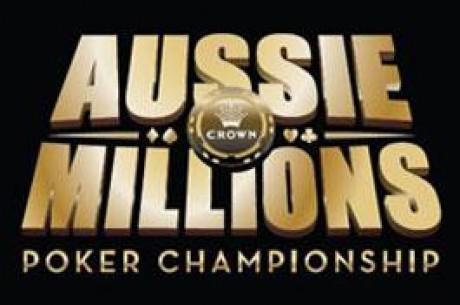 Aussie Millions opsummering event #1 til #4