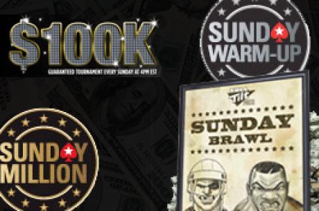 Podsumowanie niedzielnych zmagań: Rezultaty UBOC i dwukrotny zwycięzca Sunday Million