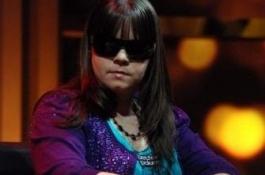 Annette Obrestad på finalebordet i Aussie Millions 2010