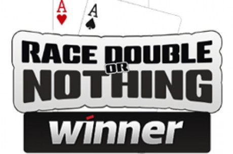 Race Double or Nothing na Winner Poker