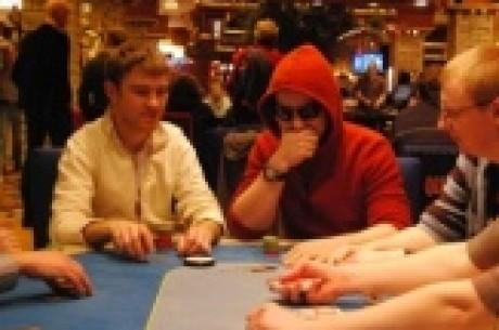 Unibet Pokerio Savaitgalis - 1A diena. Kova iki vidurnakčio, žetonų lyderis - Marius B.