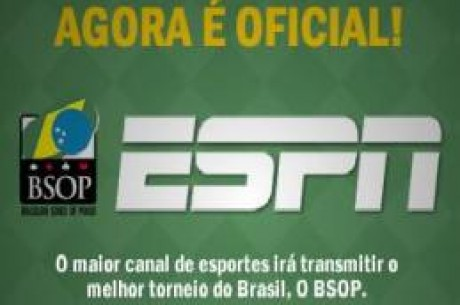 ESPN transmitirá o BSOP 2010