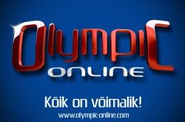 Olympic-Online.com pokkerituba on tänasest avatud!