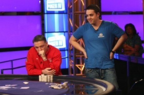 Party Poker Premier League IV, Турнир 5: Ian Frazer опережает Luke Schwartz