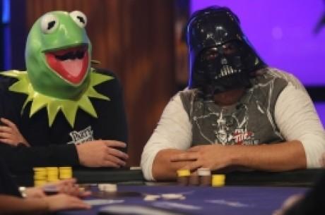 Party Poker Premier League IV, Heat 6: Negreanu gana, pese al circo montado a su alrededor