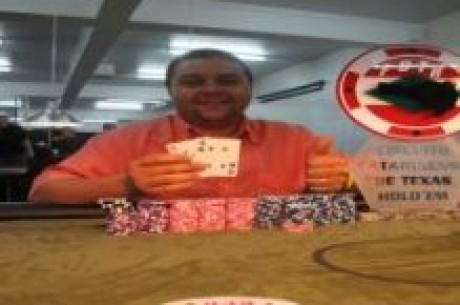 Xirú Vence a Etapa de Blumenau do Circuito Catarinense de Texas Hold'em