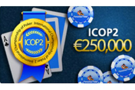 International Championship of Poker 2 (iCOP2) na Paradise Poker