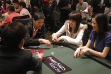 3月澳门扑克杯正在澳门扑克之星扑克室进行