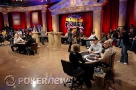 Mistrzostwa NBC Heads-Up Poker – Miejsca rozlosowane