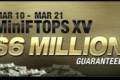 As XV MiniFTOPS Iniciam em 10 de Março!