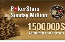 "PokerStars Sunday Million: ""Popimaiorca"", español, segundo. Resultados de torneos"